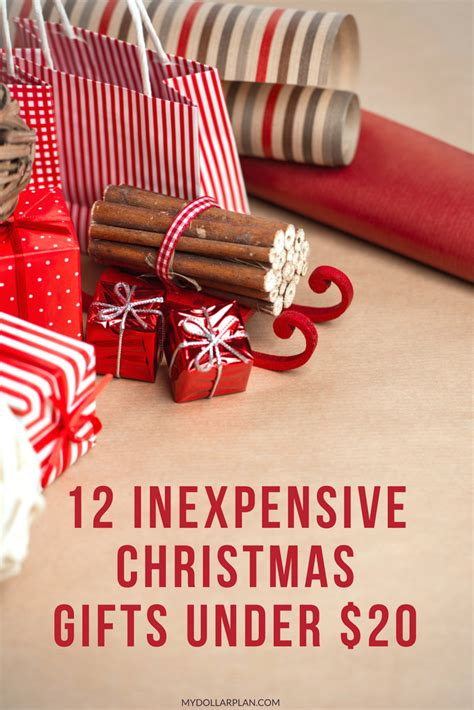 inexpensive gift 12 inexpensive gifts 20