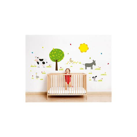 forest nursery wall decals farm or forest nursery wall stickers by nubie modern
