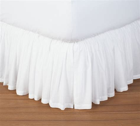 bed skirts voile bed skirt traditional bedskirts sacramento