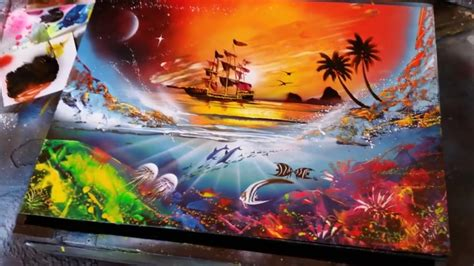 spray paint reef sunset and reef spray paint doovi