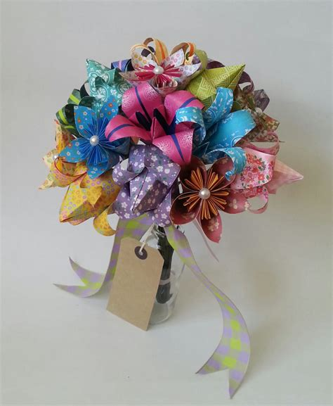 origami tulips bouquet paper anniversary gift origami bouquet tulip