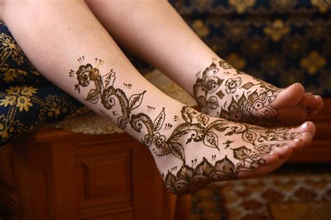 flower tattoos on foot and ankle