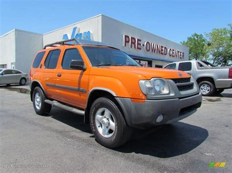 xterra paint colors 2003 atomic orange nissan xterra xe v6 4x4 48866942