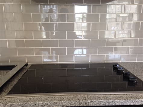 back splash tiles grey subway tile backsplash decofurnish