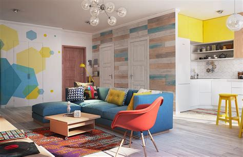 gorgeous homes interior design gorgeous home interior design with colorful wall decor