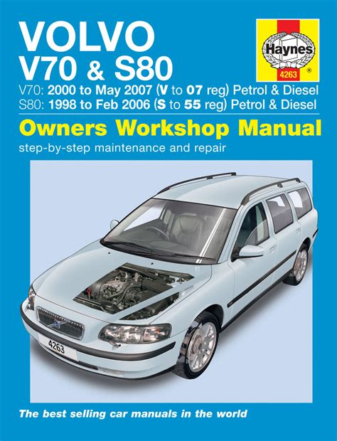 service manual free auto repair manuals 2006 volvo s80 electronic toll collection service haynes manual 4263 volvo v70 s80 petrol diesel 98 to 07
