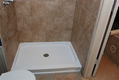 bathroom shower bases 54 shower base from fiberglass useful reviews of shower