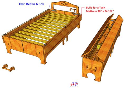 bed woodworking plans 142 folding bed formerly bed in a box 3d