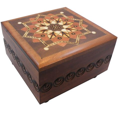 woodworking puzzle box kaleidoscope secret wooden puzzle box ebay