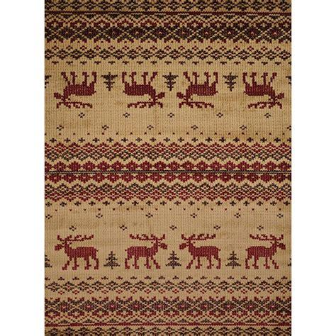 moose area rug embroidered moose area rugs