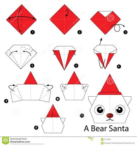 how to make a santa origami step by step how to make origami santa