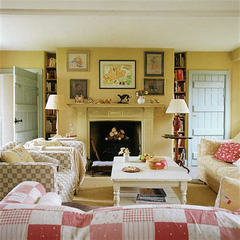 country style living room living room with country style checks ideal home