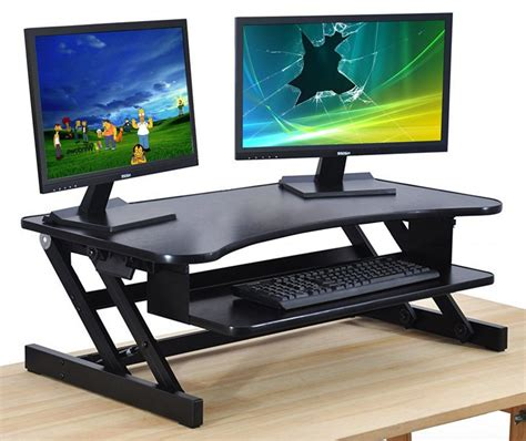 adjustable desktop standing desk best adjustable standing desks sometimes it s better to