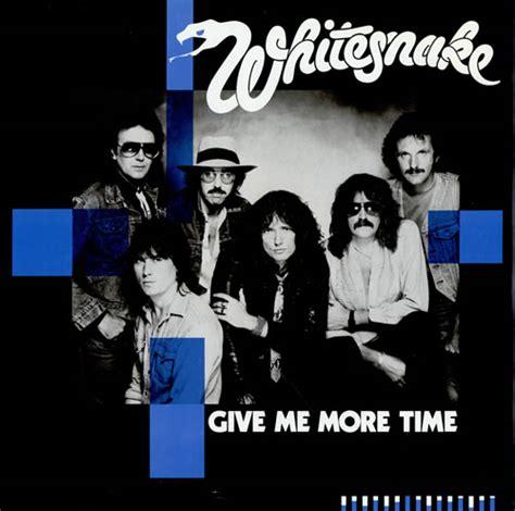 give me more whitesnake give me more time uk 12 quot vinyl record maxi