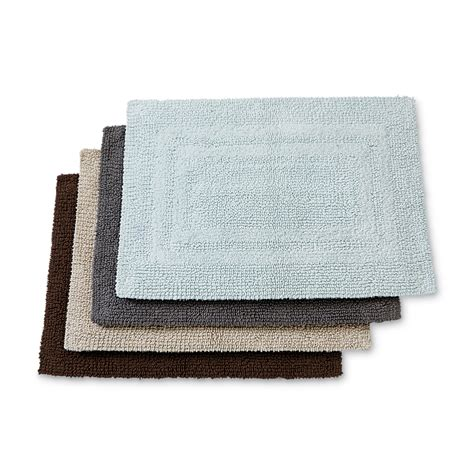 bathroom accent rugs cannon reversible bathroom accent rug 17 x 24 shop