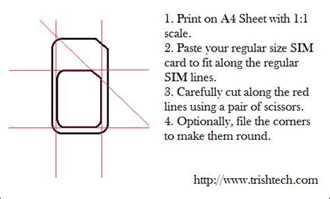 make micro sim card micro sim template cyberuse