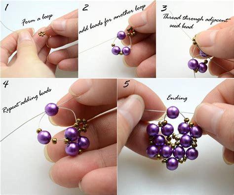 beaded earrings diy diy tutorial earrings diy beaded earrings bead cord
