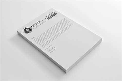 Cover Letter dribbble 03 cover letter jpg by mahmud saeef