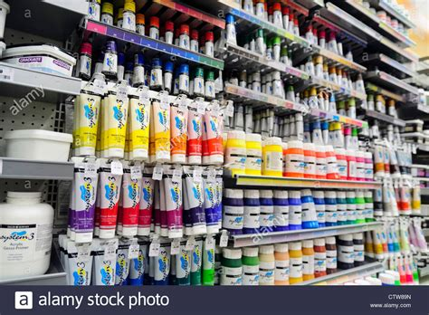 supplies uk supplies of acrylic paint for sale inside a