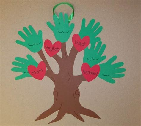 trees craft family tree craft template ideas family net