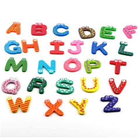 alphabet bulk buy wholesale wooden alphabet magnets from china