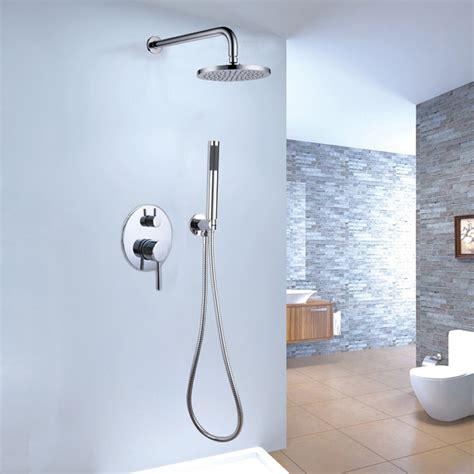 Brewst Brass Rain Shower Amp Hand Shower System