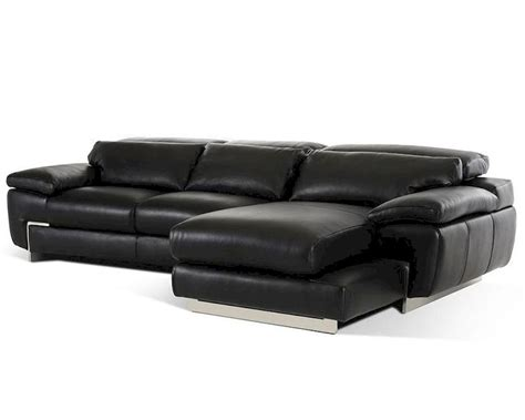 contemporary sectional leather sofa contemporary black leather sectional sofa 44l5961