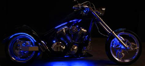 led lights for motorcycles a brief guide to install led lighting strips on motorcycle