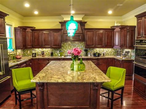 yellow and brown kitchen ideas photo page hgtv