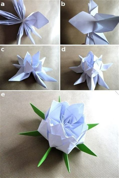 how to make lotus flower origami origami lotus flower