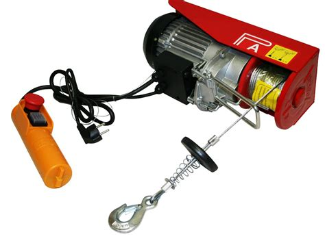Electric Motor Lift by 500kg Electric Power Hoist Winch Lift Garage Motor Lift