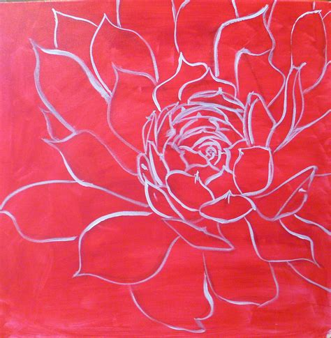 how to draw with acrylic paint on canvas how to paint flowers with acrylics step by step hens and
