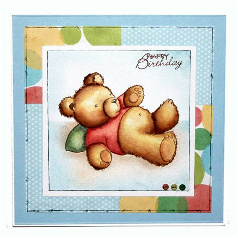 teddy rubber st herbert teddy animals rubber sts products