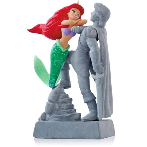 hallmark disney ornaments 25 best ideas about mermaid ornament on
