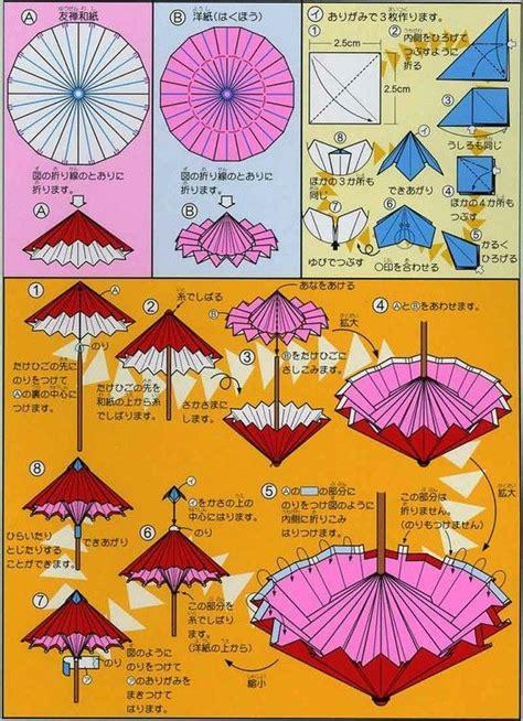 origami umbrella easy origami umbrella folding origami