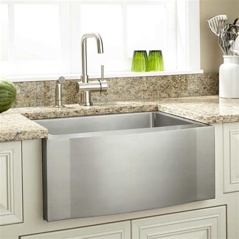 farm house kitchen sinks 27 quot optimum stainless steel farmhouse sink wave apron