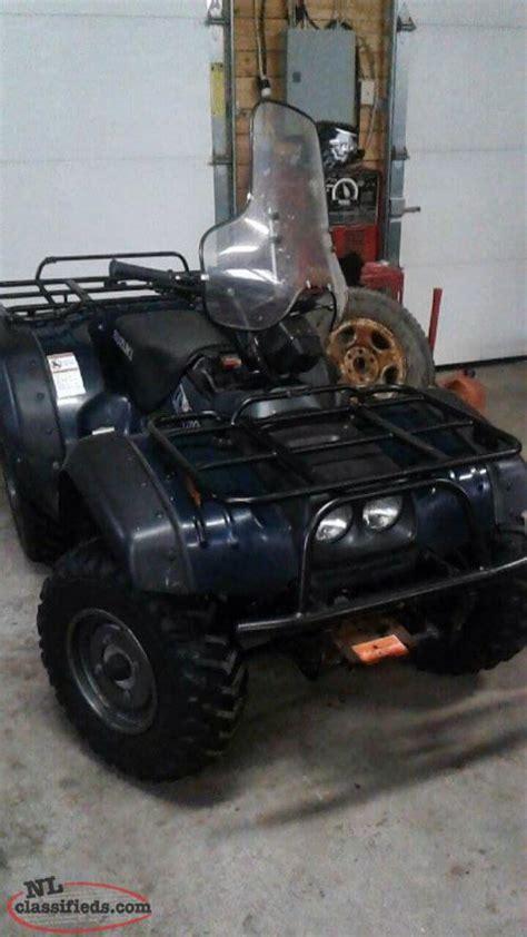 2000 Suzuki King 300 by 2000 Suzuki King 300 4x4 Norris Arm Newfoundland