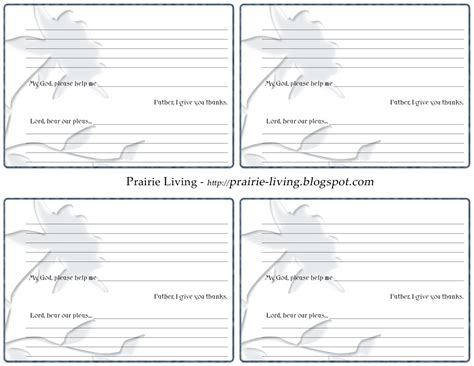 printable papers for card 4 best images of free printable prayer request forms