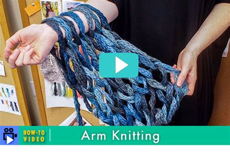 what type of yarn to use for arm knitting knitbits from berroco