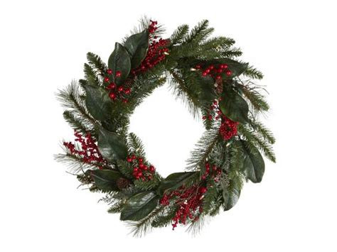 real wreaths uk 12 best artificial wreaths the independent