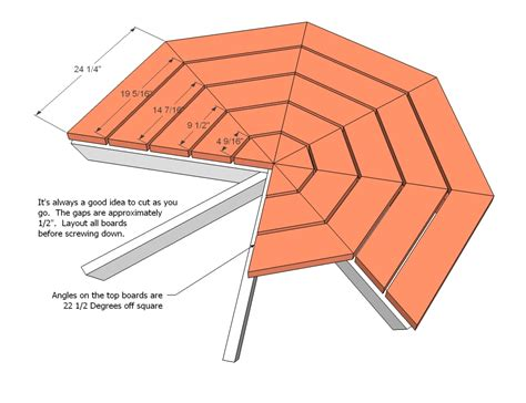 woodworking plans picnic table woodworking plans octagon picnic table woodproject