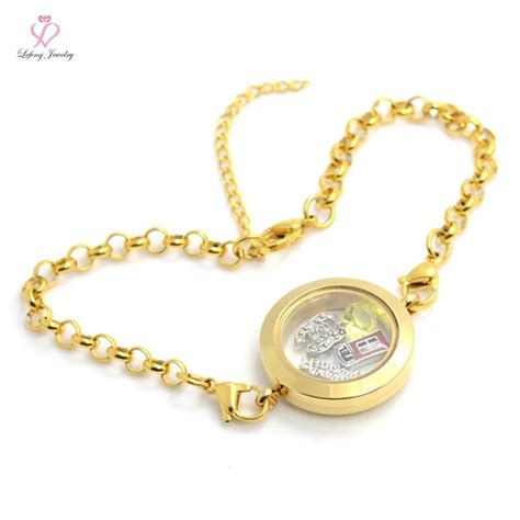 cheap origami owl charms aliexpress buy wholesale diy 25mm gold 316l