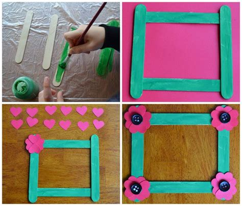craft photo frames for 32 best images about popsicle stick frames on