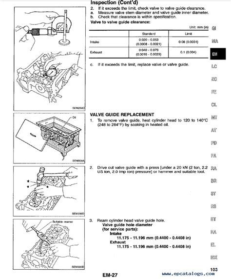 service and repair manuals 1997 nissan 240sx spare parts catalogs nissan 240sx model s14 series service manual pdf