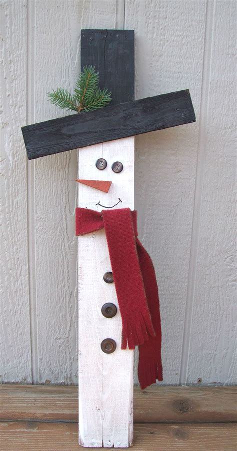 winter woodworking projects how to make a wooden snowman