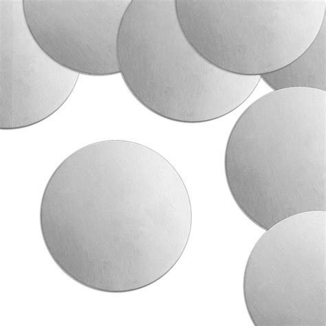 metal discs for jewelry circle aluminum metal sting blanks 2 quot 24 pc
