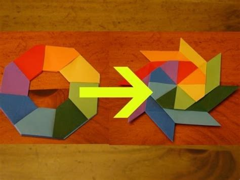 things to do with origami paper how to make a transforming easy things to