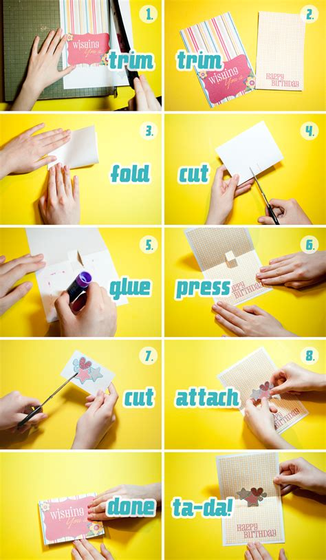 how to make a pop out card step by step how to make a pop up card scrapgirls