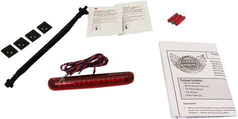 custom led light bar custom dynamics led light bar 13 16 harley breakout