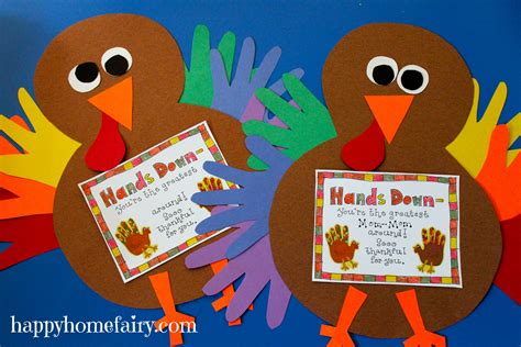 turkey craft thankful handprint turkey craft free printable happy